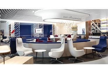 Air France inaugurates its new lounge at Paris-Orly 3