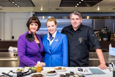 KLM is serving World Class meals – a new menu