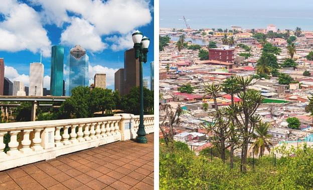 Houston-Luanda