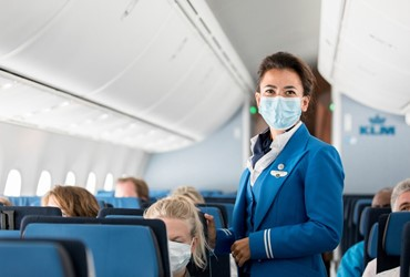 KLM wins Diamond Award as best airline for Health Safety