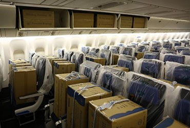 KLM introduces Cargo-in-Cabin: carrying cargo on passenger seats