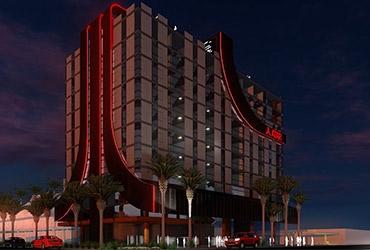 Atari into video game hotels