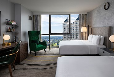 Extensive renovation of W Hotels in Atlanta