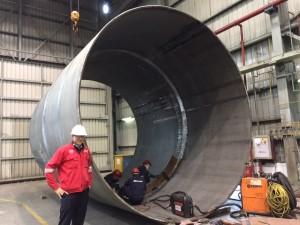 New Huisman China's three sizes in equipment – big, huge