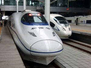 High-speed trains between Xinjiang and Europe