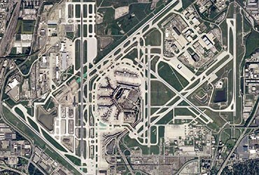 USA's most-connected airport: Chicago O'Hare
