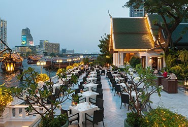 Renovated River Wing for Bangkok's historic Mandarin Oriental