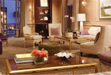 San Francisco has one hotel in the US top ten of most expensive hotel rooms, compiled by U.S. News Travel.