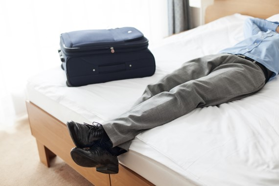 How to sleep better on business trips