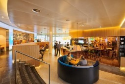 Experience the KLM Crown Lounge
